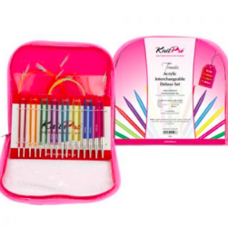 KnitPro Trendz acrylic interchangeable Deluxe Set